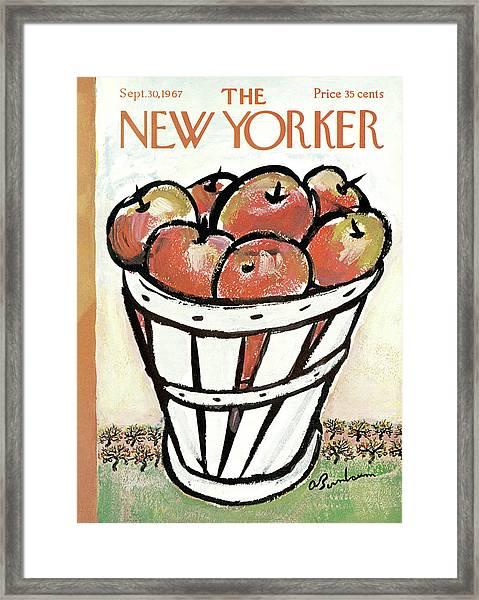 New Yorker September 30th, 1967 Framed Print
