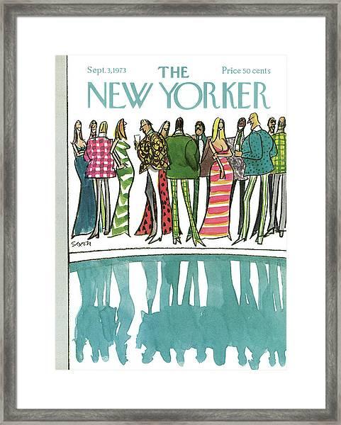New Yorker September 3rd, 1973 Framed Print