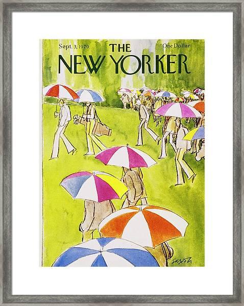 New Yorker September 3rd 1979 Framed Print