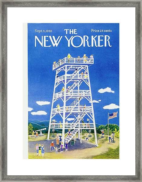 New Yorker September 4th 1965 Framed Print