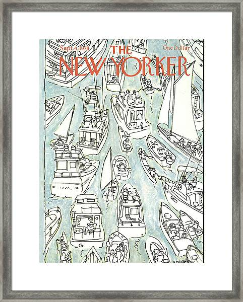 New Yorker September 4th, 1978 Framed Print