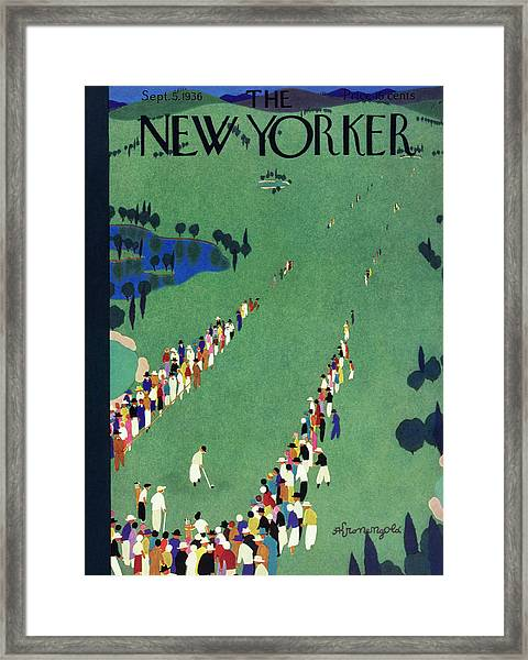 New Yorker September 5 1936 Framed Print