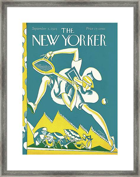 New Yorker September 5th, 1925 Framed Print
