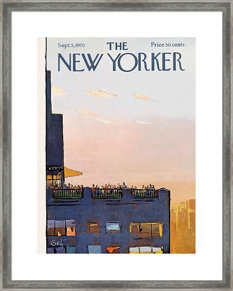 New Yorker September 5th, 1970 Framed Print