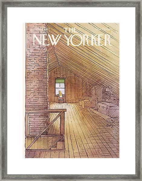 New Yorker September 5th, 1977 Framed Print