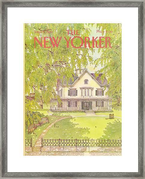 New Yorker September 5th, 1983 Framed Print
