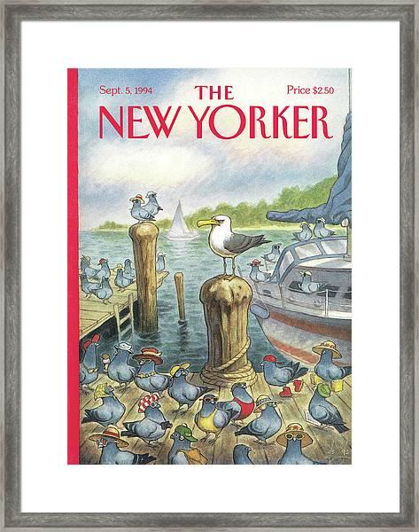 New Yorker September 5th, 1994 Framed Print