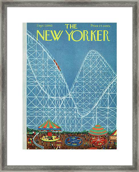 New Yorker September 7th, 1963 Framed Print