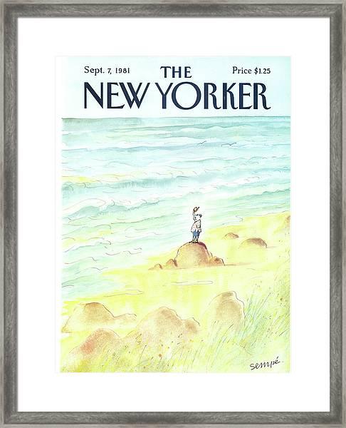 New Yorker September 7th, 1981 Framed Print