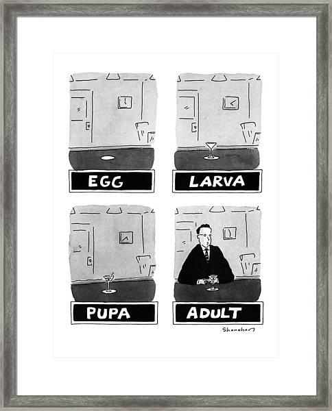 New Yorker September 7th, 1992 Framed Print