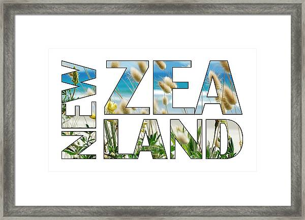 New Zealand Framed Print