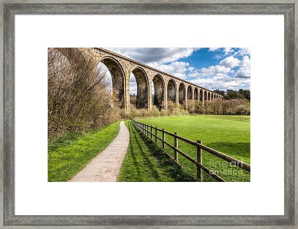 Newbridge Viaduct Framed Print