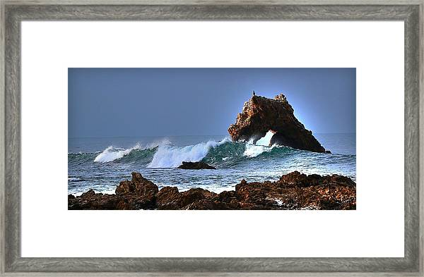 Newport Arch Framed Print