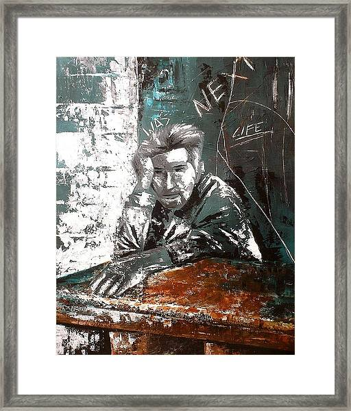 Next Framed Print by Laurend Doumba