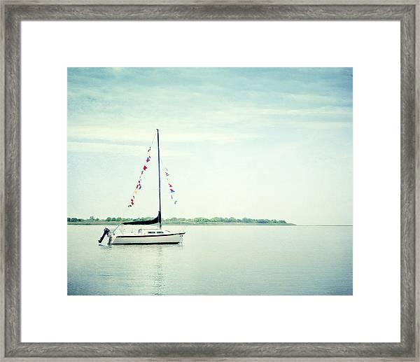 Next Voyage Framed Print