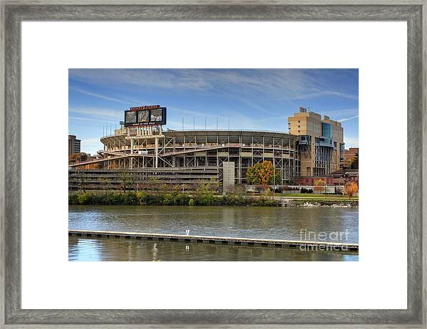Neyland Stadium Framed Print