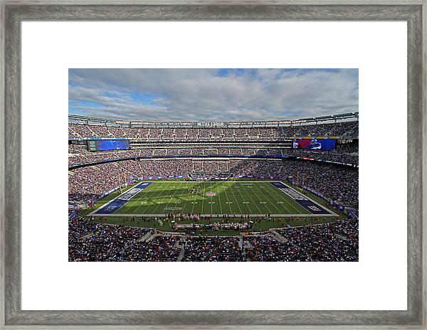 Nfl New York Giants Framed Print