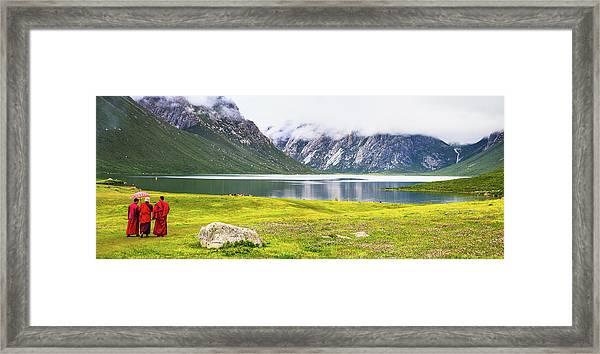 Nianbaoyuze National Geopark, Qinghai Framed Print