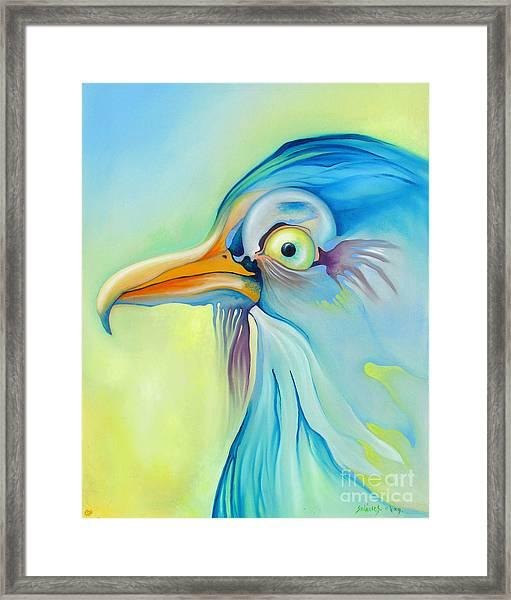 Nice Bird Framed Print