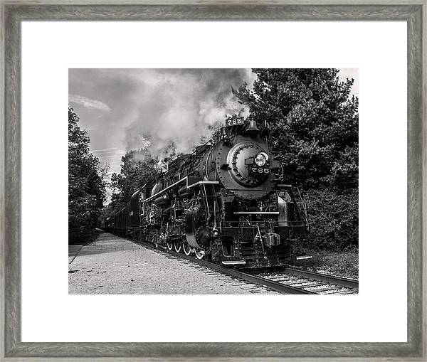 Nickel Plate Berkshire 765 Framed Print
