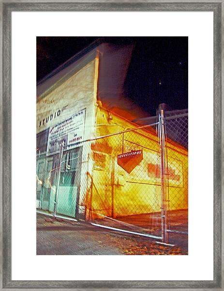 Night Cage Studio Suggestions 2013 James Warren Framed Print