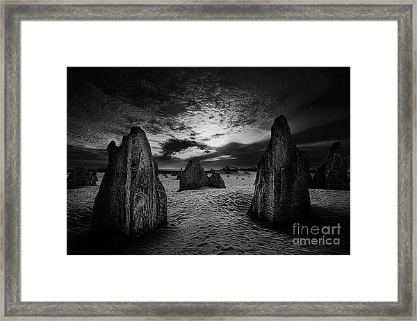 Night Comes Slowly Framed Print