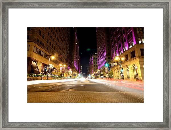Night Life Framed Print