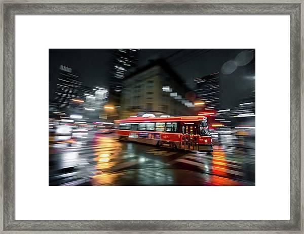 Night Moves Framed Print by Jason Crockett
