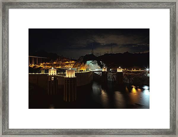 Night Poetry Framed Print