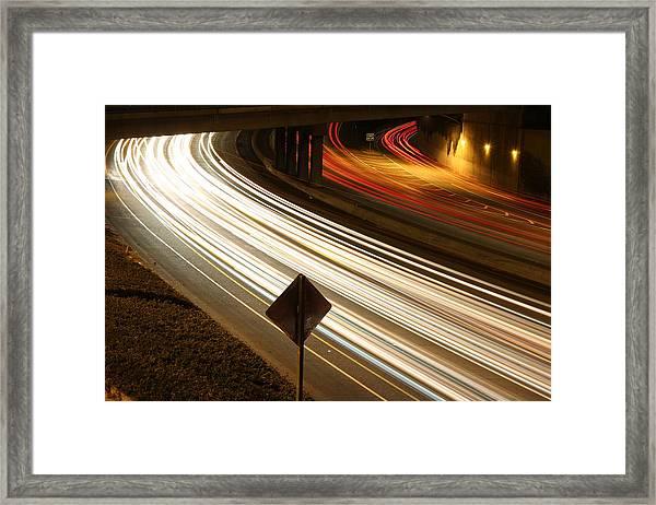 Night Riders Framed Print