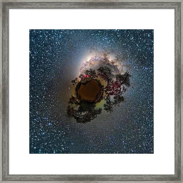 Night Sky In Namibia Framed Print
