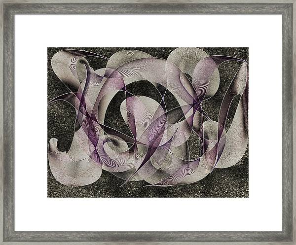 Night Stars Framed Print