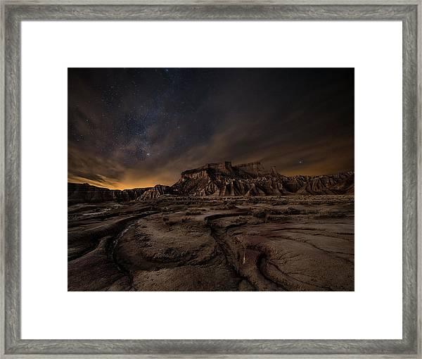 Night Wind Framed Print