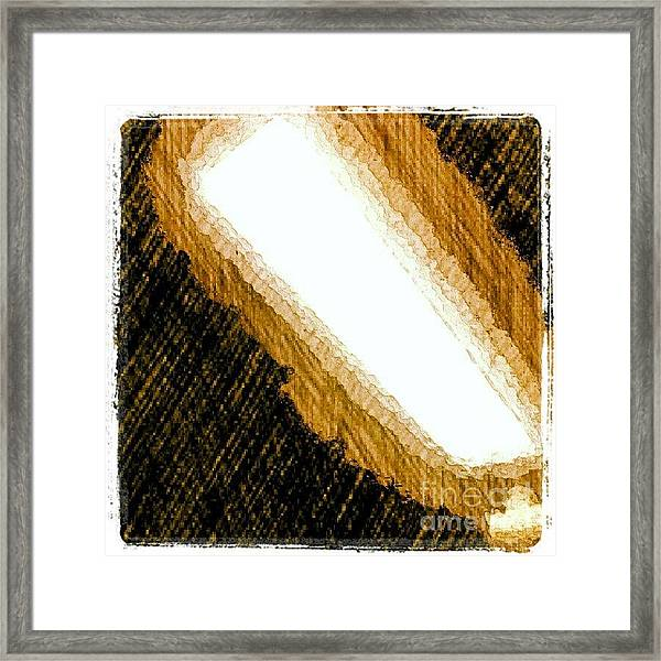 Nightlight #1stangel #art Framed Print
