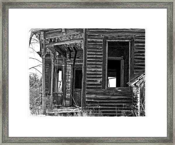 Nightmare Aware Framed Print