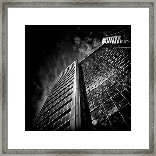 No 123 Front St W Toronto Canada Framed Print