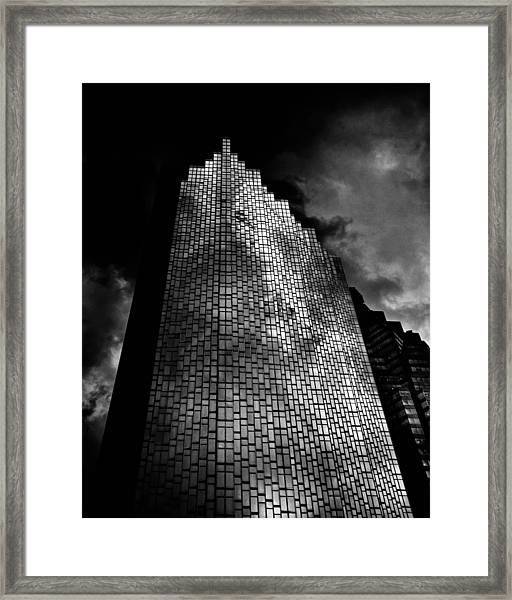 No 200 Bay St Rbp South Tower Toronto Canada Framed Print