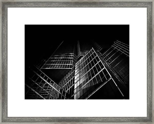 No 200 King St W Toronto Canada Framed Print