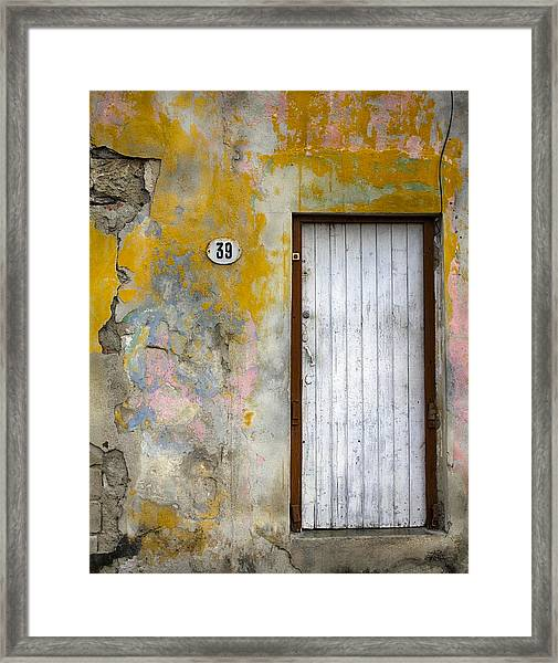 No. 39 Framed Print