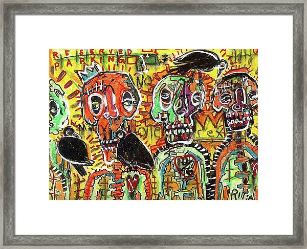 No Loitering Framed Print