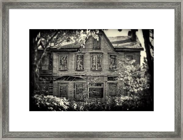 No One's Home Framed Print