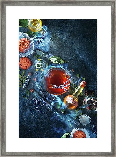 No Worries Mixture Framed Print by Dina Belenko