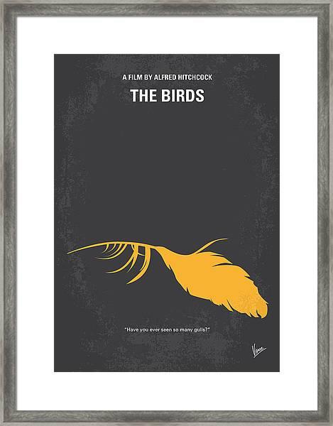 No110 My Birds Movie Poster Framed Print