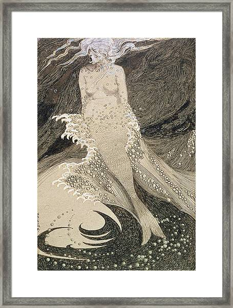 The Mermaid Framed Print