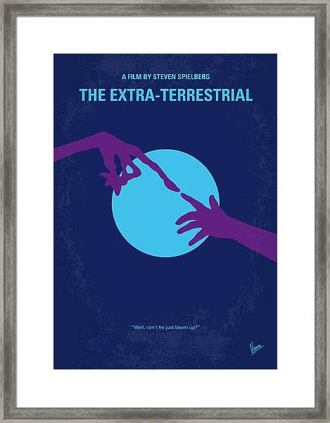 No282 My Et Minimal Movie Poster Framed Print