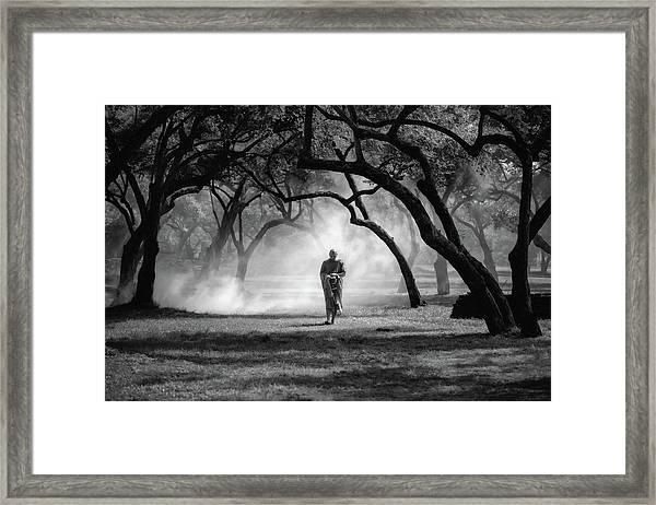 No.4 Framed Print