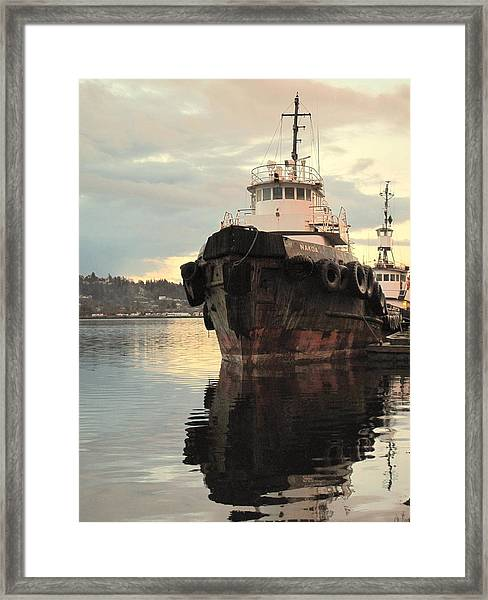 Nokoa At Sunrise Framed Print