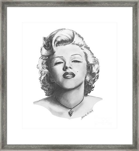 Norma Jeane Framed Print