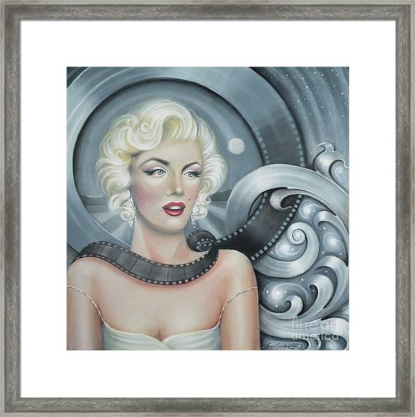 Norma Jean's Dream Framed Print