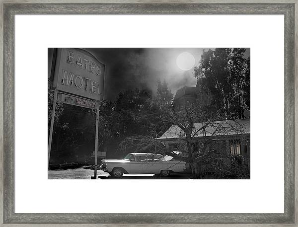 Norman Is Ready Framed Print